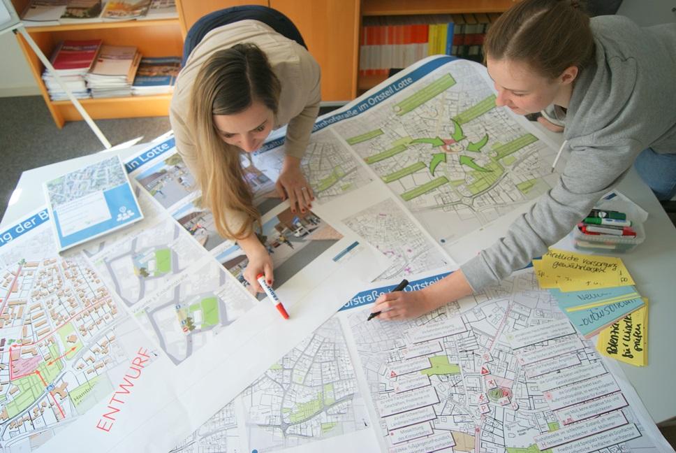 Konzept zur Umgestaltung der Bahnhofstraße in Lotte fertiggestellt